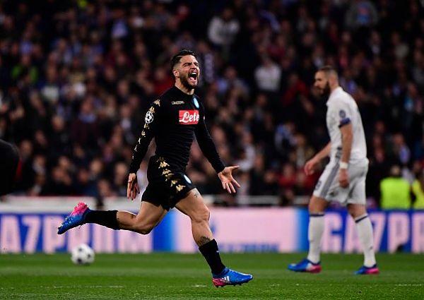 Champions League – Napoli passa in vantaggio, poi sorpasso Real