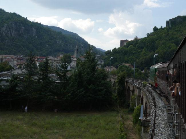 Quella ferrovia turistica più forte dell'alluvione