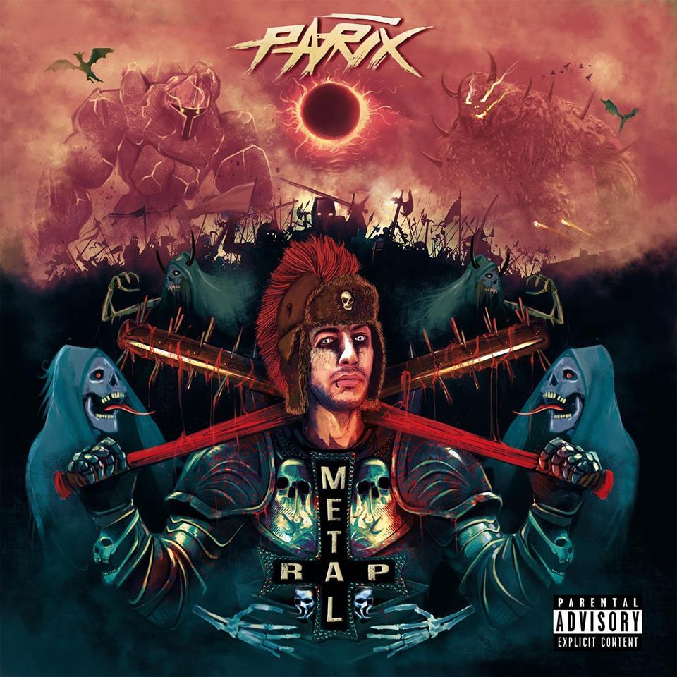 Fuori 'Metal rap', il nuovo album di Parix