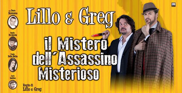 """Lillo e Greg sbarcano al Sistina con """"Il mistero dell'assassino misterioso"""""""