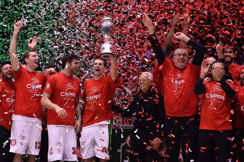 Basket: Coppa Italia all'Olimpia Milano, Dinamo Sassari battuta 84-74