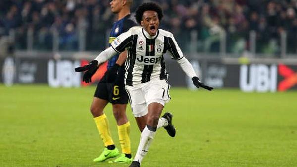 Juve – Inter 1a0. Ci pensa Cuadrado