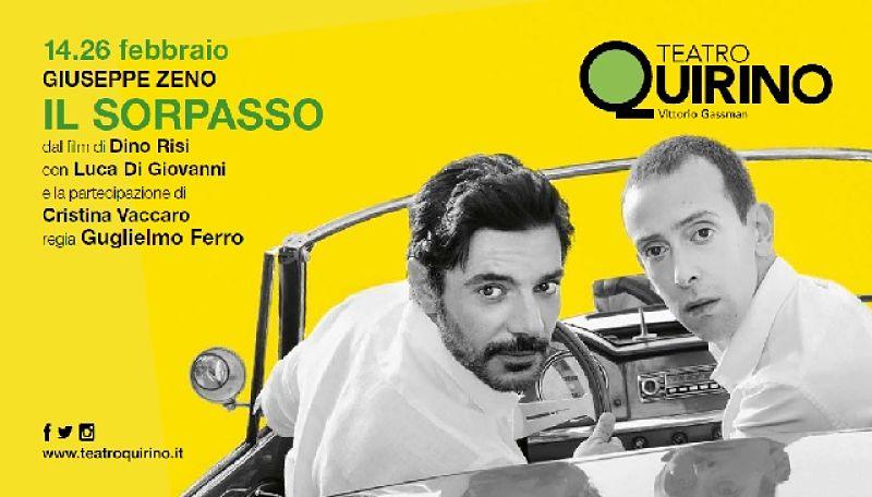 """""""Il Sorpasso"""": commedia all'italiana al Teatro Quirino"""