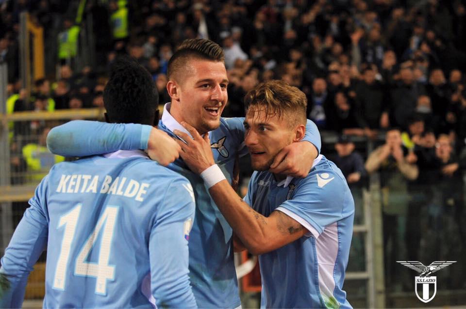 Milinkovic-Immobile, alla Lazio il derby d'andata