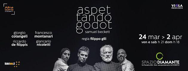 Aspettando Godot allo Spazio Diamante di Roma riconferma il duo Colangeli-Montanari