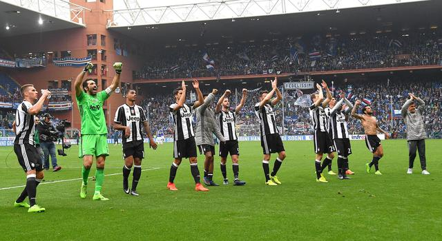 Sampdoria-Juventus 0-1 : goal di Cuadrado e altro passo verso lo scudetto