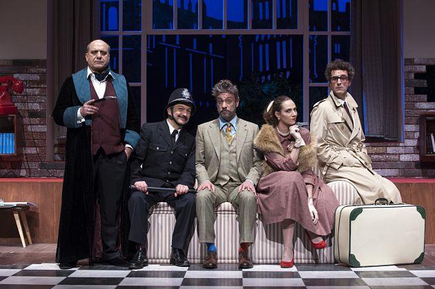 L'Ispettore Drake ed il delitto perfetto: Sherlock incontra Clouseau