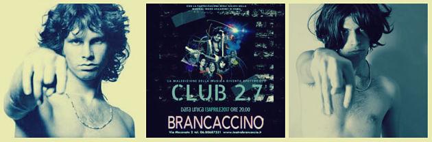"""""""Club 2.7"""", il mito della maledizione del 27 al Brancaccino di Roma"""