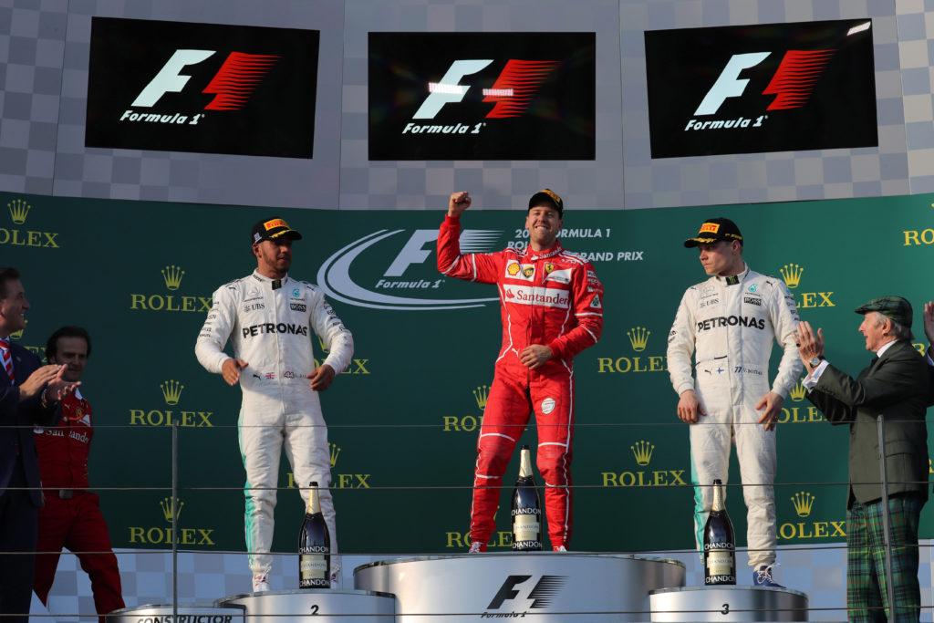 Gp Australia: Ferrari vincente all'esordio, Vettel domina su Hamilton