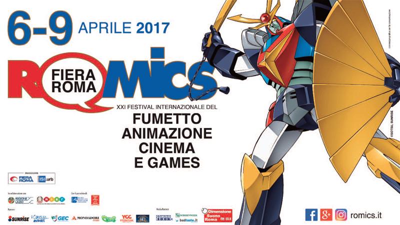 Romics 2017 – dal 6 al 9 Aprile
