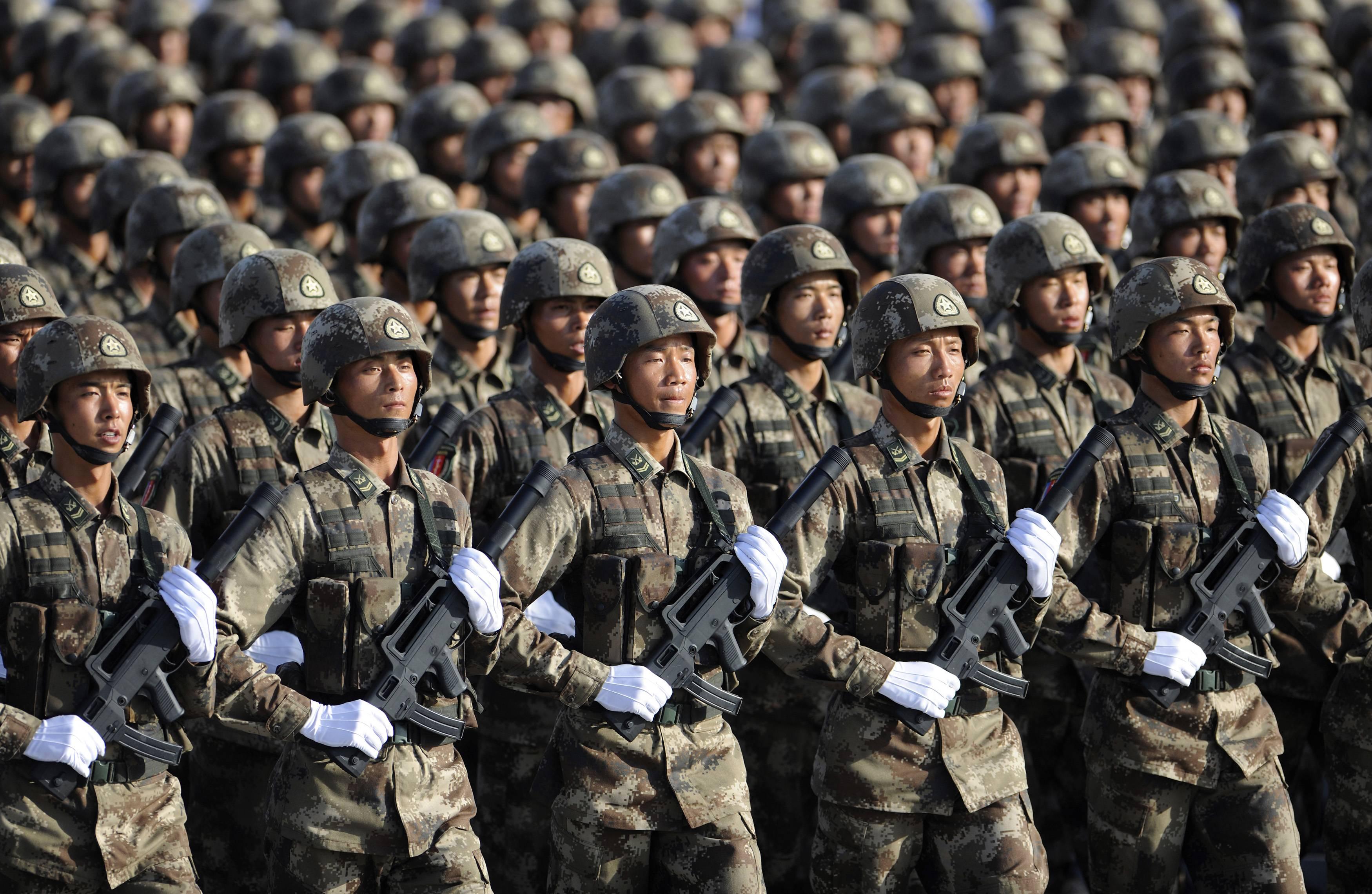 Cina: aumento del 7% delle spese militari