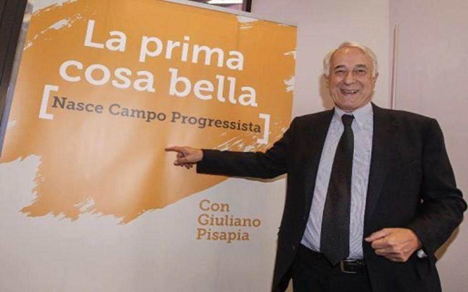 Pisapia inaugura Campo Progressista