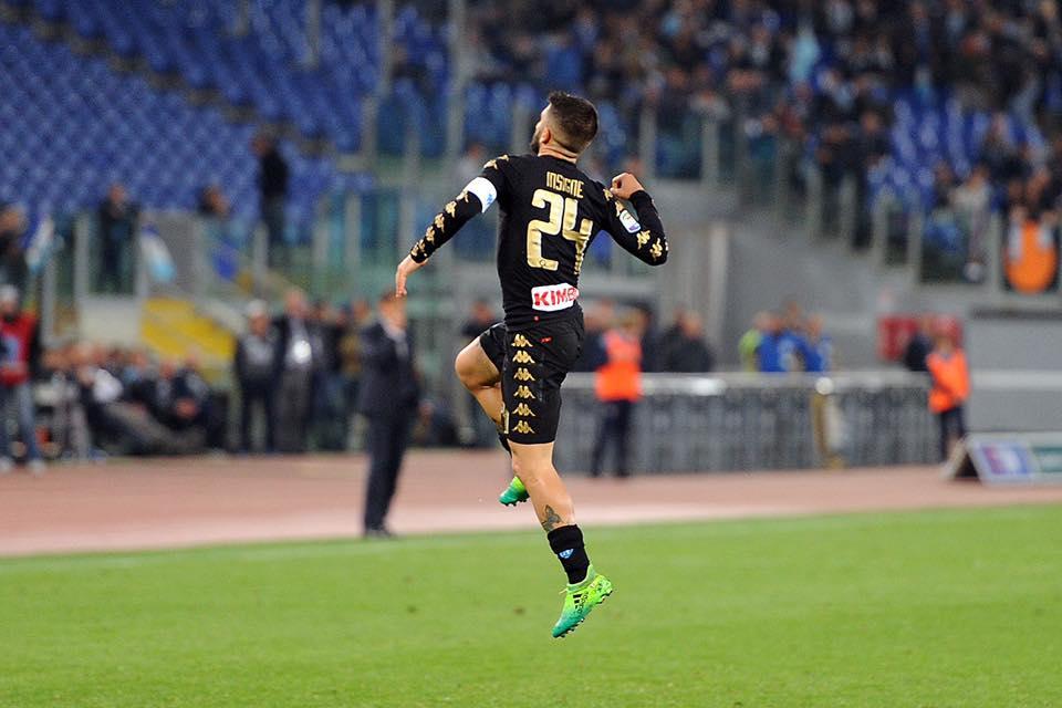 Il Napoli passeggia all'Olimpico:3-0 alla Lazio e terzo posto ipotecato