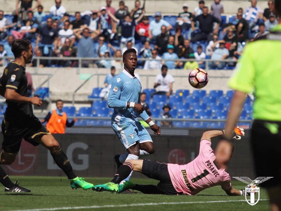 Keita e Immobile asfaltano il Palermo, gioia anche per Crecco: 6-2 all'Olimpico