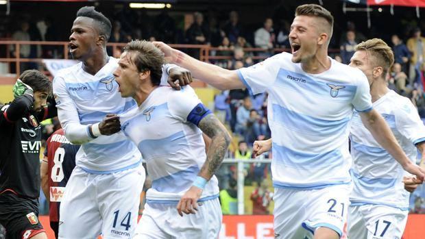 La lazio pareggia in extremis. 2 a 2 a Genova