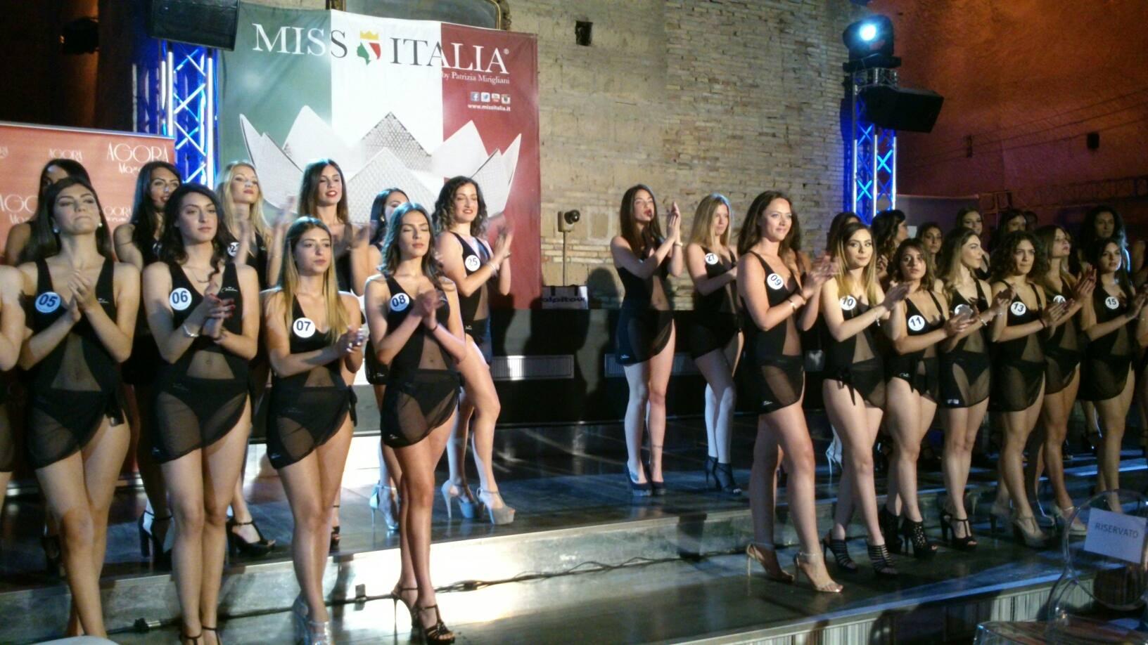 """Parte da Napoli """"Miss Italia 3.0"""""""