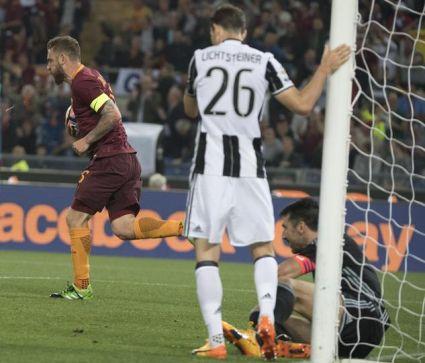 La Roma rovina la festa alla Juventus: 3-1 allo Stadio Olimpico
