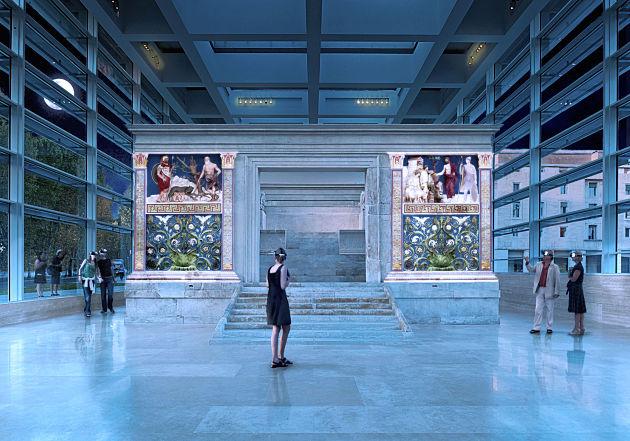 """""""L'Ara com'era"""", la suggestiva mostra interattiva al Museo dell'Ara Pacis"""