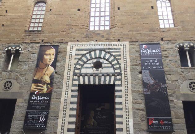 Leonardo torna a Firenze a tutto tondo