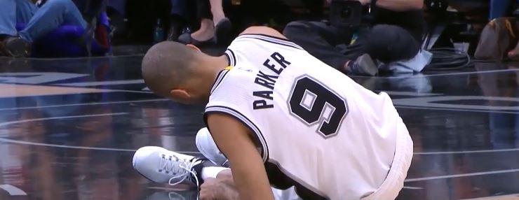 Basket NBA: infortunio e Playoff finiti per Tony Parker