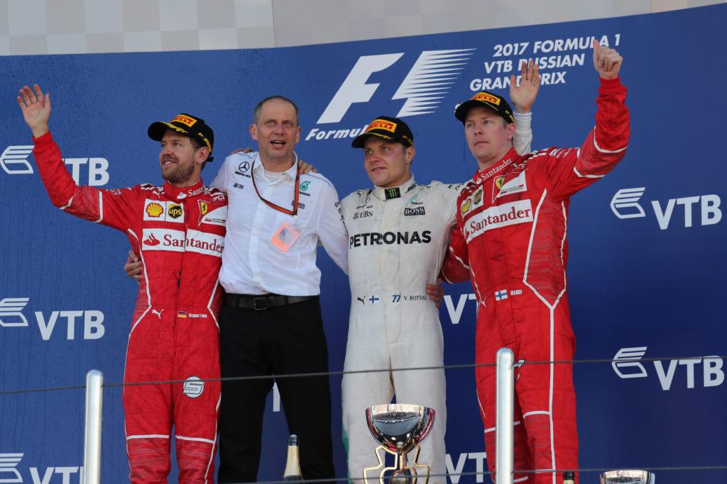 Tra Bahrein e Russia la Ferrari va in testa al mondiale