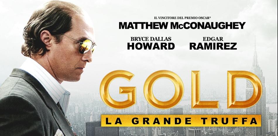 GOLD – LA GRANDE TRUFFA | Matthew McConaughey regala sogni