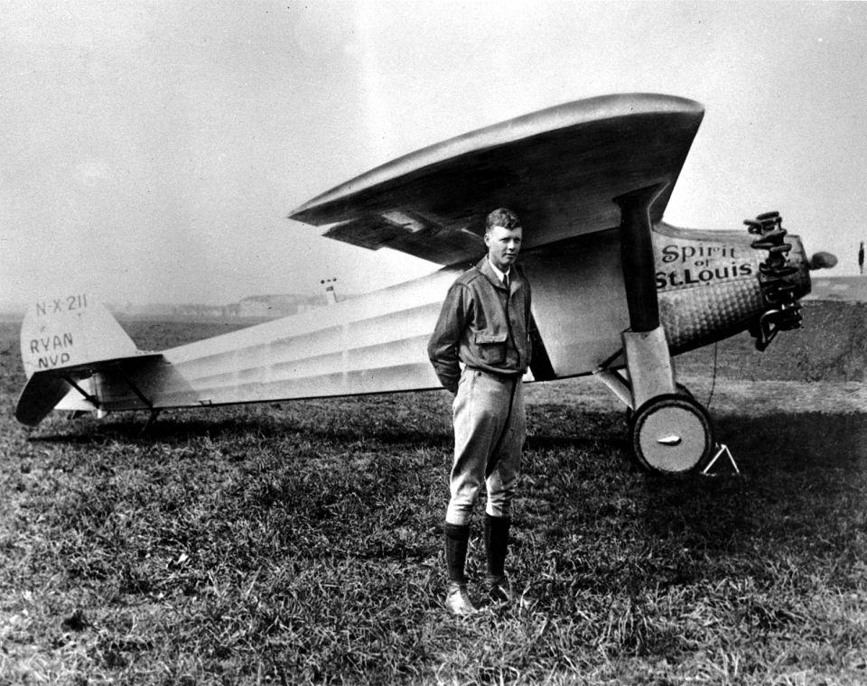 Lindbergh, l'aquila solitaria che stupì il mondo