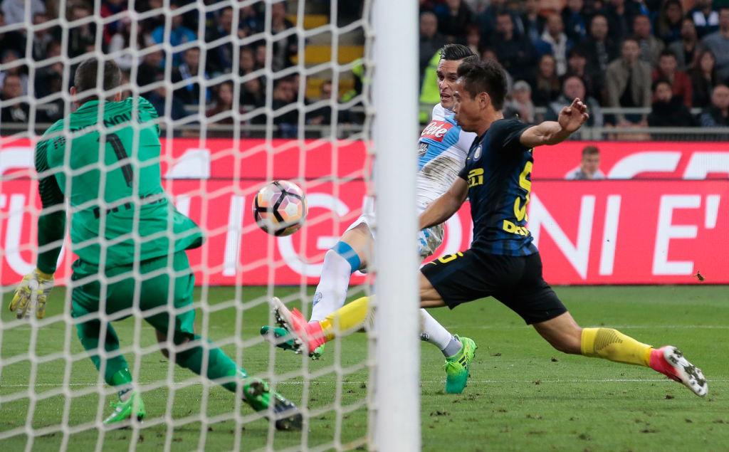 L'Inter stecca ancora. Il Napoli ringrazia Nagatomo. Il secondo posto per gli azzurri è ora vicino