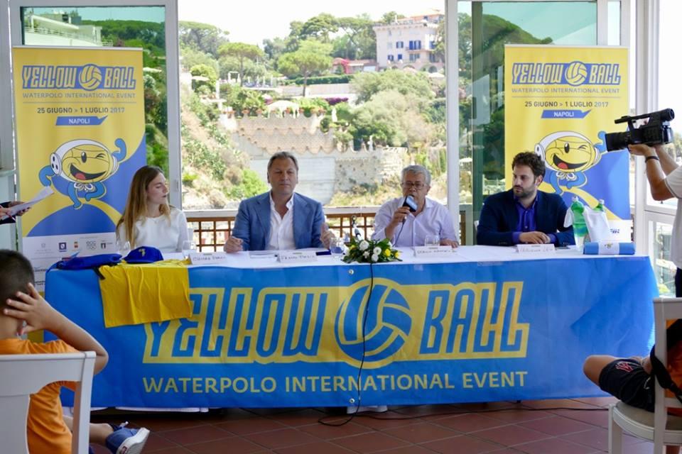 """Presentato il torneo""""Yellow Ball""""  di pallanuoto,  grande occasione per i ragazzi di mettersi in mostra"""