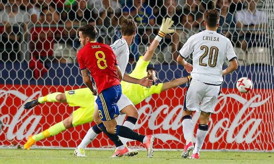 Under 21 sconfitta. Saul trascina la Spagna in finale