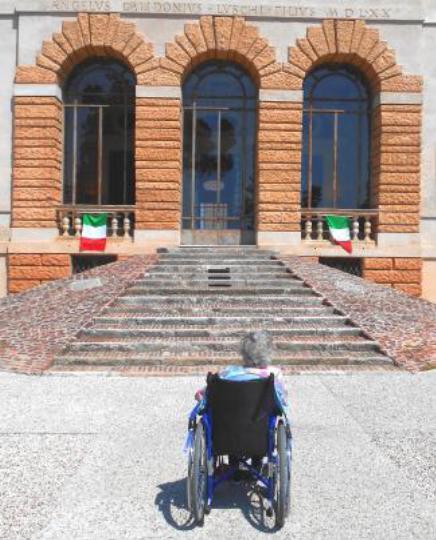 Barriere architettoniche | Il caso della palladiana Villa Caldogno nel vicentino