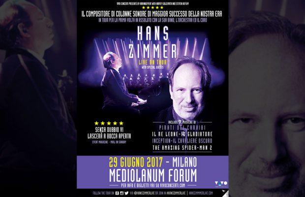 Hans Zimmer: un concerto spettacolare