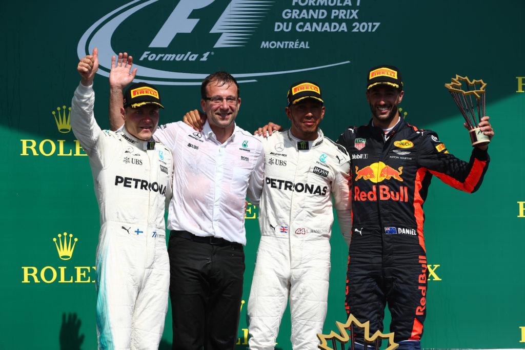 Gp Canada: Hamilton firma la doppietta Mercedes, Ferrari limita i danni