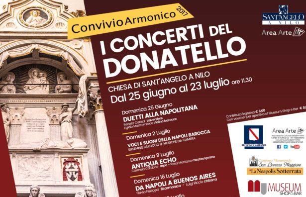I concerti del Donatello nella Chiesa di Sant'Angelo al Nilo