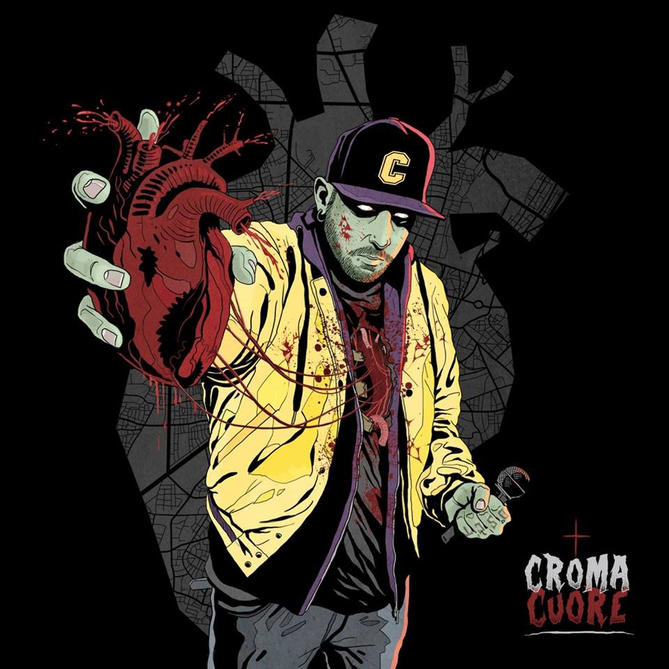 """Il """"cuore"""" punk-rocker  di Croma"""