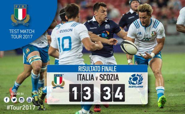 Rugby – A singapore Italia sconfitta dalla Scozia