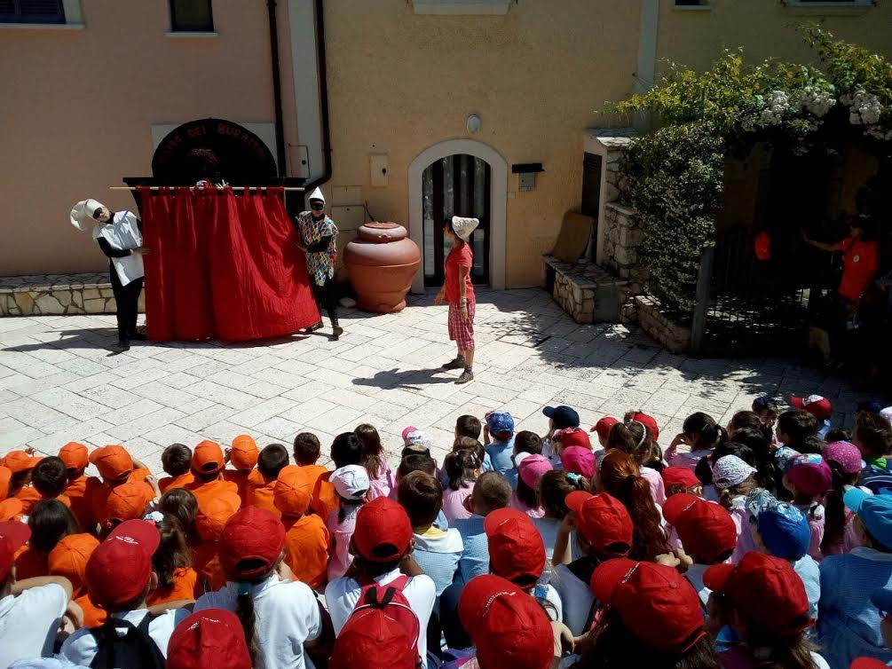 Festival della Fiaba a Campodimele: un successone con tanti bambini
