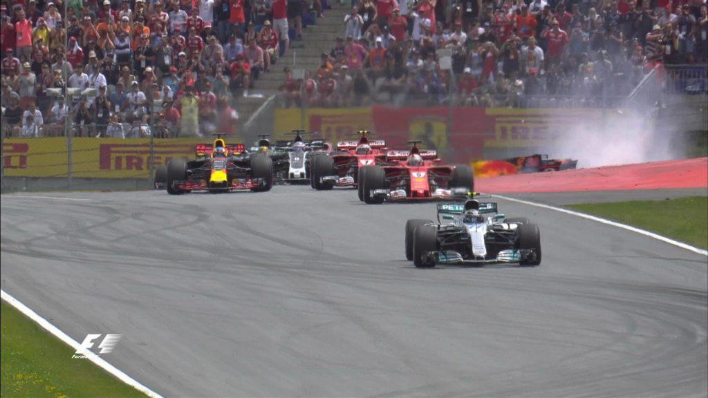 GP d'Austria: Bottas vince, Vettel allunga