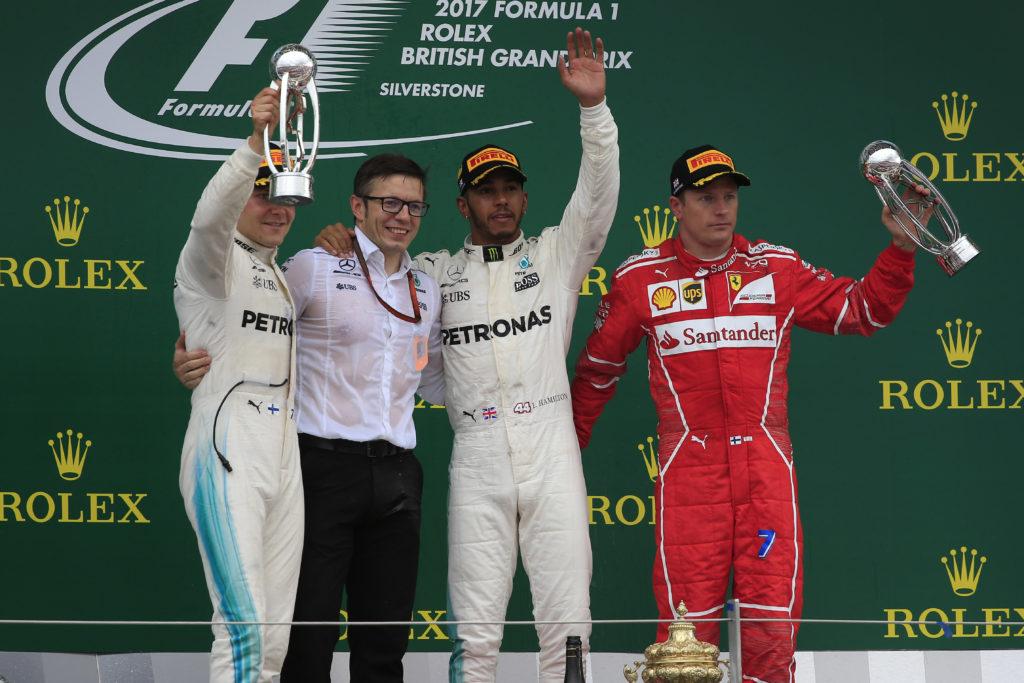 GP Gran Bretagna: dominio di Hamilton, guai per la Ferrari