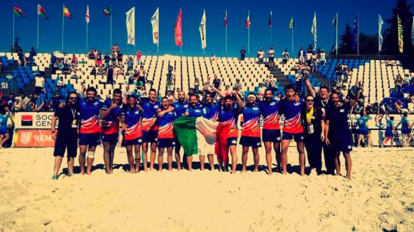 Rugby –  Nel beach siamo campioni d'Europa