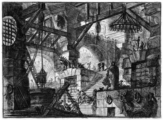 """""""Piranesi – La fabbrica dell'Utopia """", ovvero elogio della Roma Antica"""