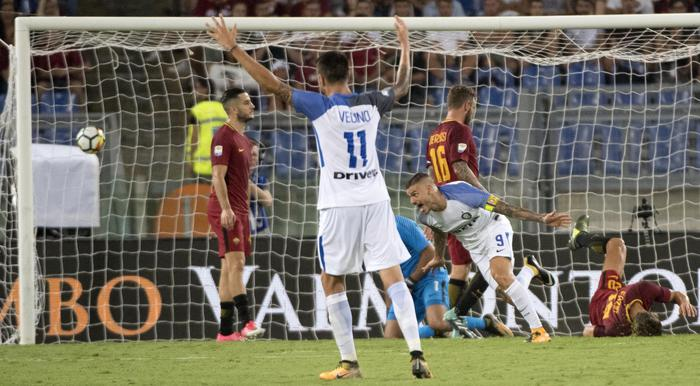 Icardi espugna l'Olimpico: l'Inter vince 1-3