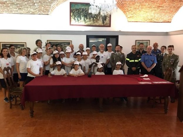 Cisom e Esercito Italiano insieme per le vacanze dei piccoli provenienti dalle zone del terremoto
