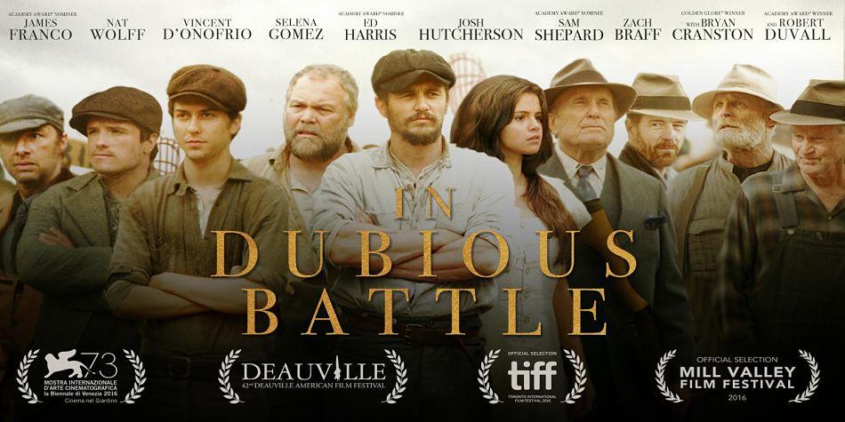 IN DUBIOUS BATTLE | James Franco presenta il suo nuovo lavoro