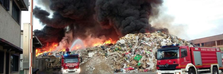 Roghi per coprire le irregolarità nel trattamento dei rifiuti