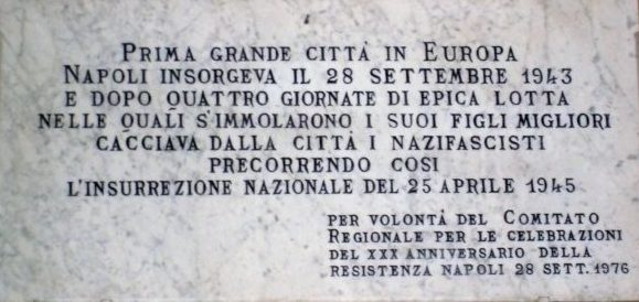 Le quattro giornate di Napoli: quando il popolo si liberò dal nazifascismo