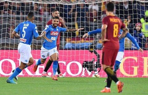Roma-Napoli 0-1: i partenopei espugnano l'Olimpico