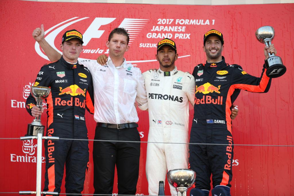 GP del Giappone: Hamilton ipoteca il mondiale, Vettel ritirato