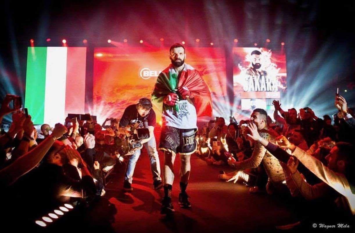 """Il """"Legionario"""" alla conquista del Bellator. L'intervista ad Alessio Sakara"""