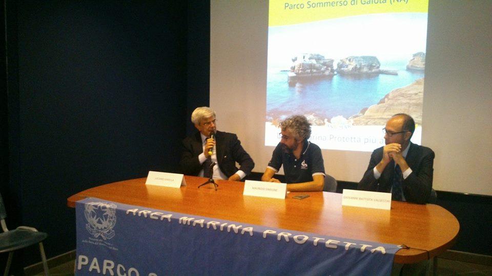 """Il Parco Sommerso della Gaiola, area marina protetta, vince il premio La più amata d'Italia"""""""